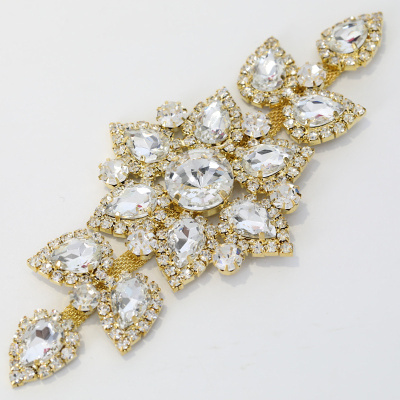 Glass sewing rhinestone appliques
