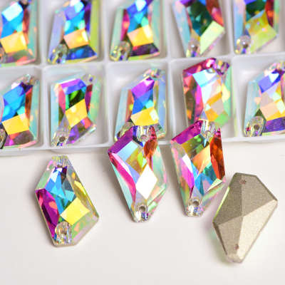 Factory Direct Sale Highest Quality Flat back Crystal Rhinestone Sew On Stone