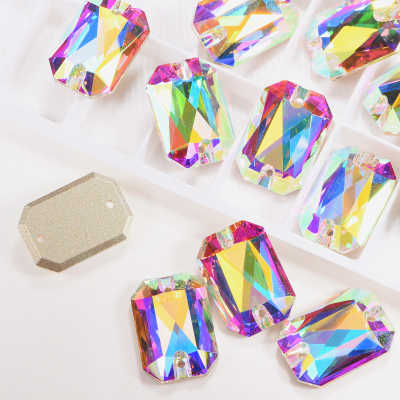Best Quality Flatback Glass Sew On Crystal Rhinestones For Bikinis - 副本